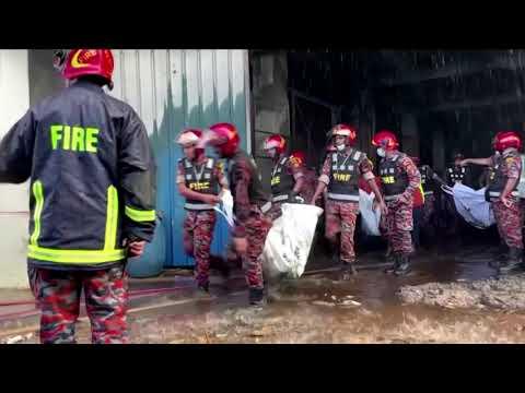 Bangladesh factory fire kills at least 52
