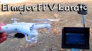 EL MEJOR FPV PARA DRONES CALIDAD PRECIO: FPV unvisersal para cualquier tipo de drones baratos