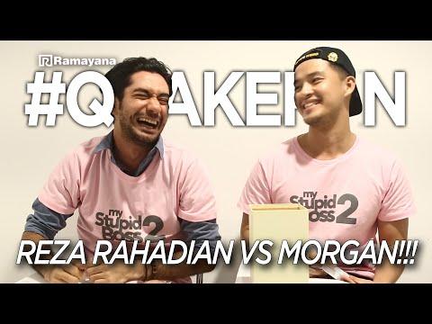 REZA RAHADIAN VS MORGAN OEY!! I My Stupid Boss 2
