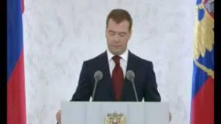 050 Президент Дмитрий Медведев о протестантах России