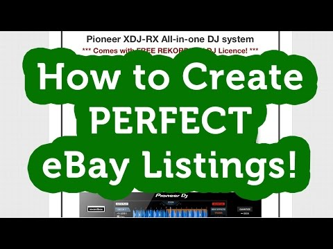 Download How To Create Professional Ebay Listings Without