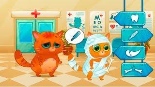 Суровый КОТИК БУБУ #26  Игры на улице  Мультик ИГРА про котят УШАСТИК KIDS
