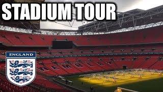 WEMBLEY STADIUM TOUR! THE HOME OF ENGLAND!