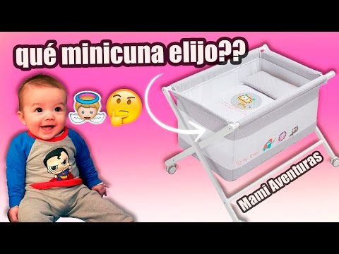Minicuna para bebé