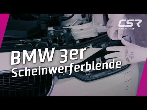 Montagevideo Scheinwerferblenden (Variante zum Verkleben mit 3M Klebeband) von CSR-Automotive