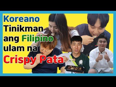 Koreans Reaction to Crispy Pata / Korean Mukbang