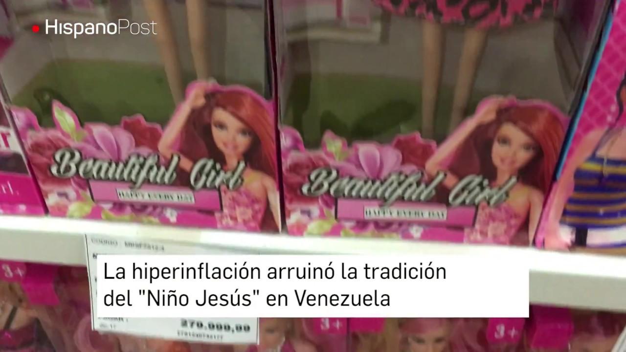 """La hiperinflación arruinó la tradición del """"Niño Jesús"""" en Venezuela"""