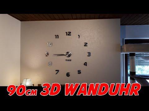 3D WANDUHR / 100cm DURCHMESSER für 20 EURO [Vorstellung]