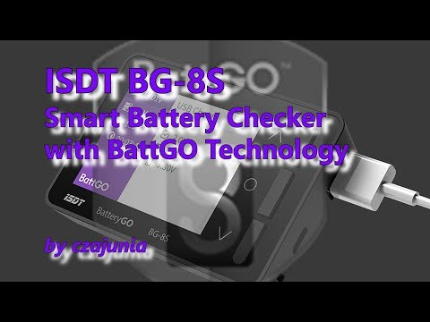 ISDT BG-8S Smart Battery Checker Review