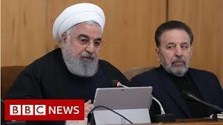 Iran president: US &39feet will be cut off from region&39 - BBC News