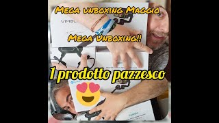 Ultra Unboxing. Drone occhiali FPV, stabilizzatore gimbal FeiyuTech, Smartwatch in ear free buds, .