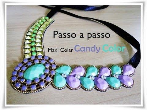 Maxi Colar Candy
