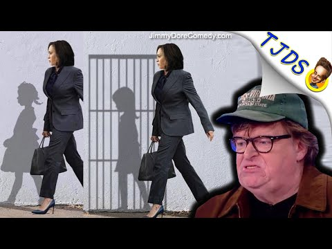 GROSS Kamala Harris Iconography Posted By Michael Moore!
