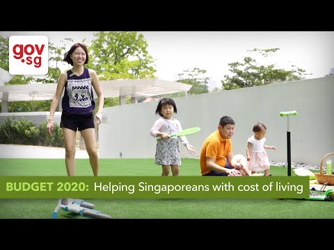 Budget 2020: Helping Singaporeans with cost of living