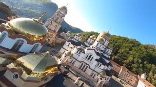 Новоафонский монастырь   Абхазия - страна души   FPV Drone Freestyle   New Athos monastery Abkhazia