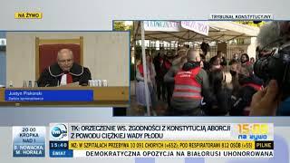 Reakcja Kai Godek na wyrok Trybunału Konstytucyjnego zakazującego aborcji.
