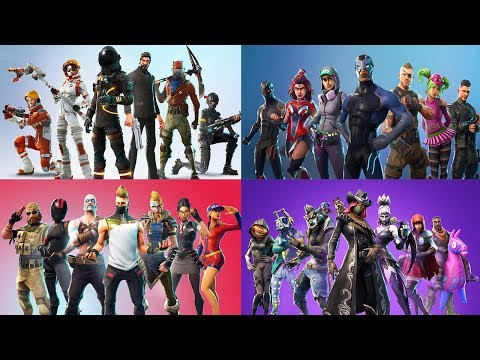 TOUS LES 40 TRAILERS FORTNITE BATTLE ROYALE (Saison 1 - Saison 6)