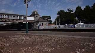 preview picture of video 'Torquay Station - Monday 1st July 2013'