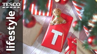Super quick gift wrapping hack