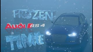 "AUDI RS4 AVANT ""FROZEN TIME"" - FORZA HORIZON 3 (CINEMATIC)"