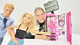 Кен собирает новый шкаф для Барби. Мультики для девочек.
