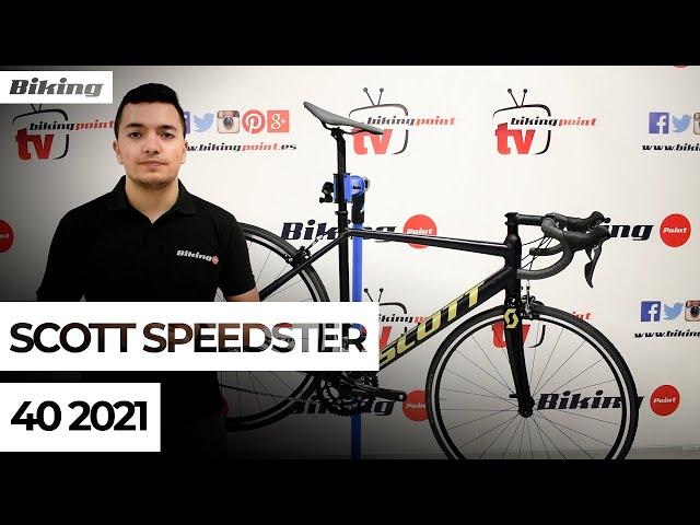 Видео Велосипед Scott Speedster 40 Granite Black
