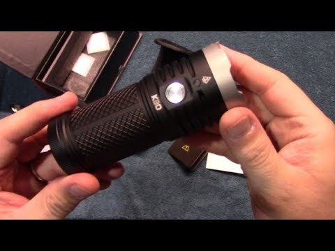 AceBeam K30 Flashlight Review!
