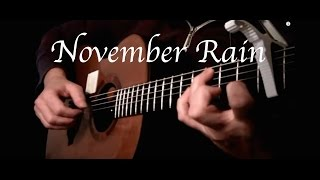 Kelly Valleau - November Rain (Guns N' Roses) - Fingerstyle Guitar