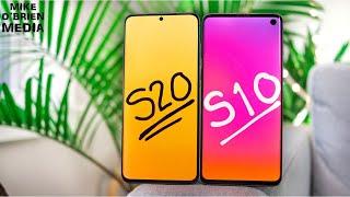 Samsung Galaxy S20 vs S10 (COMPARING S10 vs. S20 REGULAR)