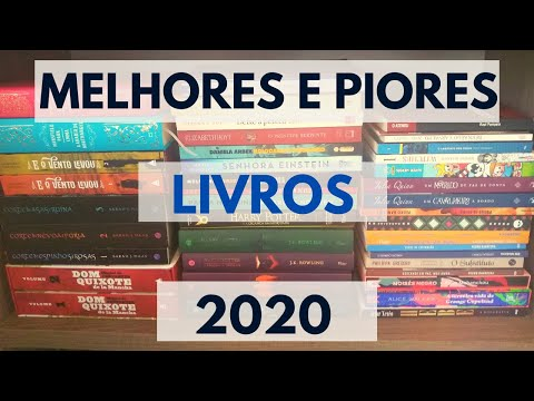 Melhores e piores livros + Leituras de 2020