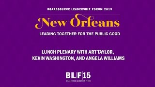 Lunch with Art Taylor, Kevin Washington, and Angela Williams