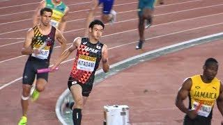 世界リレー 男子4×400mリレー 決勝(2019 横浜)