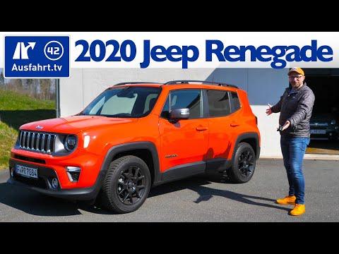 2020 Jeep Renegade 1.0l T-GDI 120PS MT6 Limited - Kaufberatung, Test deutsch, Review, Fahrbericht
