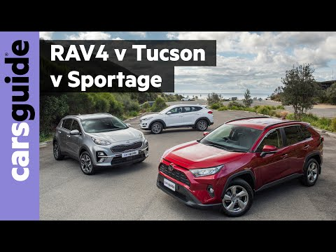 RAV4 vs Tucson vs Sportage 2020 comparison review