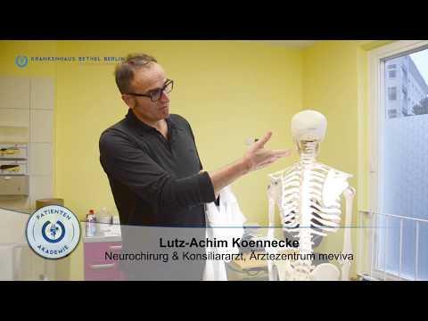 Langjährige Rückenschmerzen - Verband Orlett rs 105 am Schultergelenk