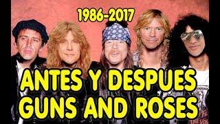 Guns N' Roses- antes 1985 ahora 2018