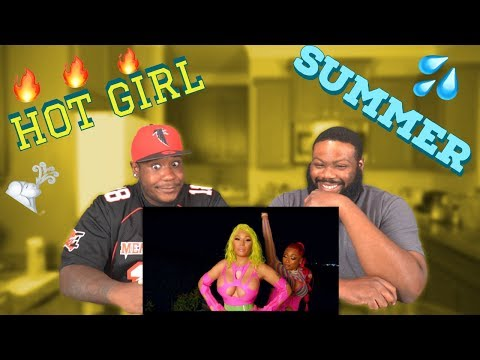 REACTION | Megan Thee Stallion | Hot Girl Summer | Nicki Minaj | Ty Dolla $ign