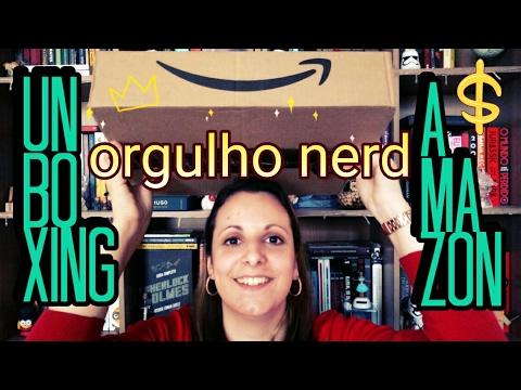 UNBOXING Amazon | Dia do Orgulho Nerd | Pilha de Leitura