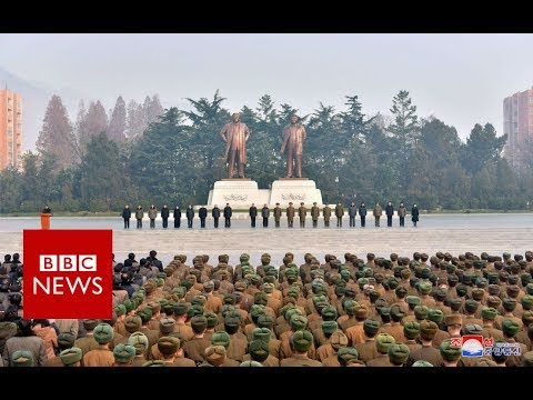 North Korea has accused the US of being a 'warmonger' - BBC News