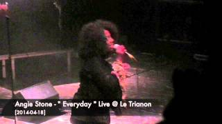 "Angie Stone - "" Everyday "" Live @ Le Trianon [2014-04-18]"