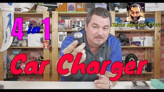 Kevin Reviews Stuff | Review of the 4 in 1 Finduat Car Charger With Electric Shaver Razor
