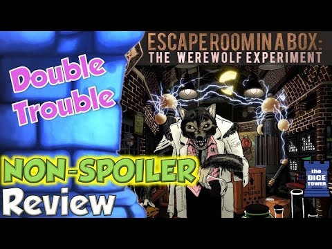 Escape Room In A Box: The Werewolf Experiment Review - Double Trouble