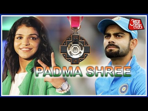 Shatak Aajtak: Virat Kohli and Sakshi Malik win Padma awards