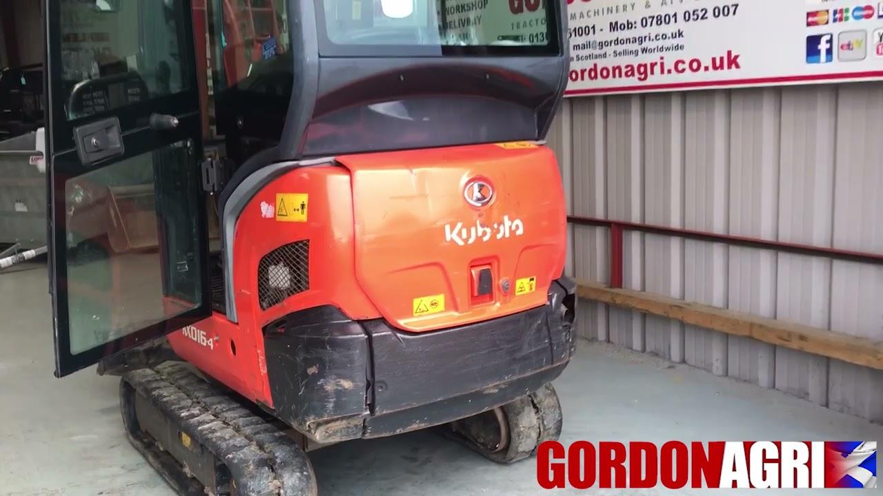 Kubota KX016-4 1.6 ton Mini Excavator