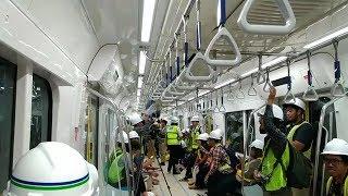 Menjajal Kereta MRT Rute Bundaran HI - Lebak Bulus Bersama Gubernur DKI Anies Baswedan