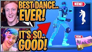 """Streamers React To The *NEW* """"WORK IT"""" EmoteDance & """"TURBULENT"""" Wrap!   Fortnite Best Moments"""