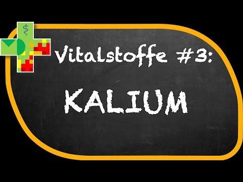 Kalium, Kaliummangel und Auswirkungen auf den Körper