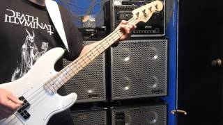ARMORED SAINT  -  Mutiny on the world Bass Cover Take One