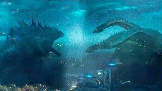 《哥斯拉2怪兽之王》最新预告分析,哥斯拉大战王者基多拉