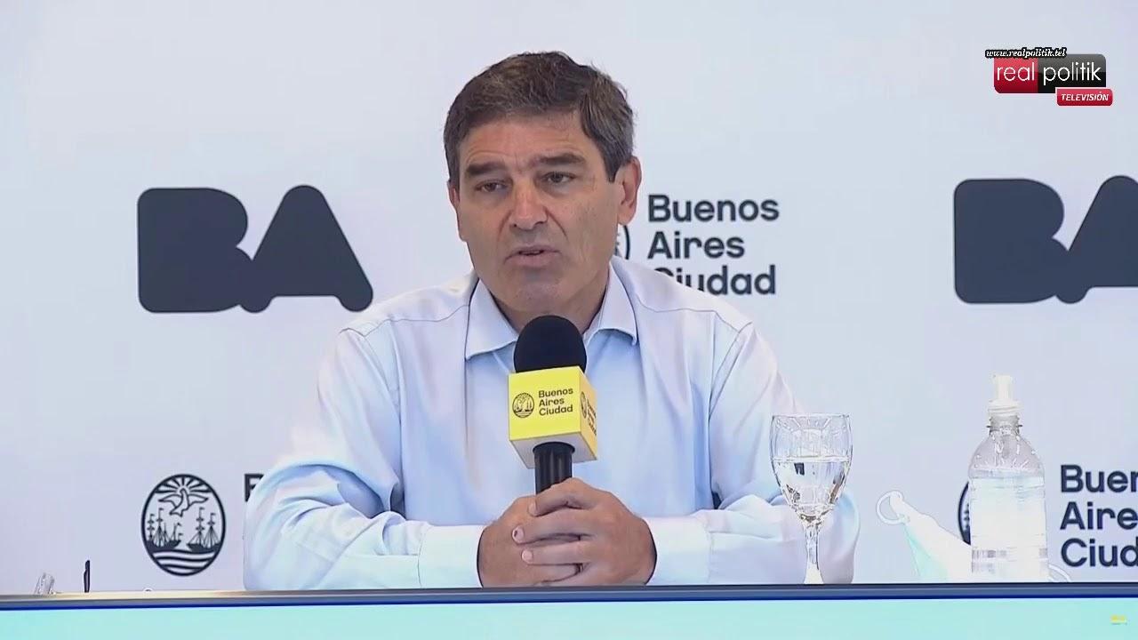 Fernán Quirós da a conocer la situación sanitaria de la Ciudad de Buenos Aires